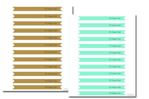 strawman template free oh happy day straw flag printables b lovely events