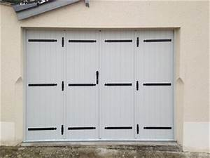 Porte De Garage 4 Vantaux : groupe gmh fermetures produits portes de garage battantes ~ Dallasstarsshop.com Idées de Décoration