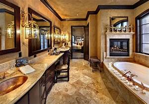 Luxury Bathrooms With Fireplaces - Kyprisnews
