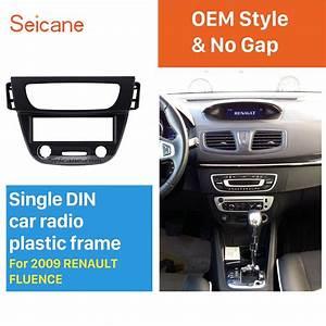 Seicane Newest 1 Din Car Radio Fascia For Renault Fluence