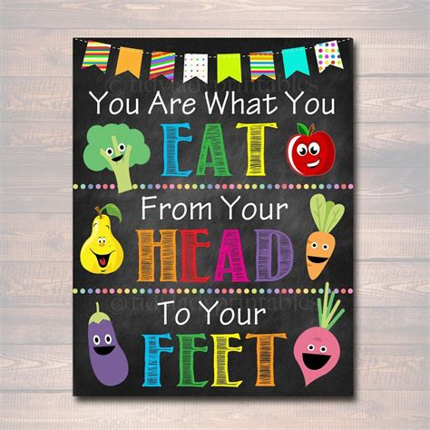 These 8 practical tips cover the basics of healthy eating and can help you make healthier choices. School HEALTH Poster, Cafeteria Poster, Printable, Lunchroom School Teacher Sign, Cafeteria Wall ...