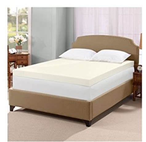 4 inch mattress topper serta ultimate 4 inch visco memory foam mattress topper