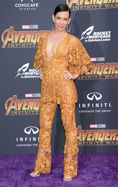 Evangeline Lilly Avengers Premiere Infinity War Angeles