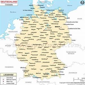 Schönsten Städte Deutschland : st dte in deutschland deutschland st dte karte ~ Frokenaadalensverden.com Haus und Dekorationen
