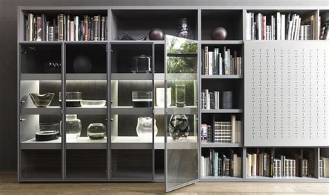 contemporary living room wall units    love
