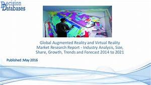 Augmented reality and virtual reality market till 2022