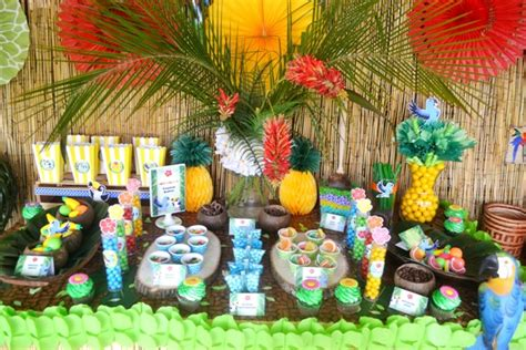 rio   inspired birthday party party ideas party