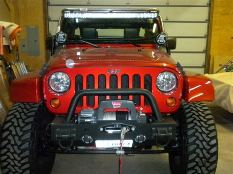led light bar for jeep wrangler tj