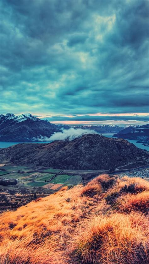 mountains landscapes  zealand queensland queenstown