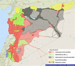 Syrian civil war map as of 15 March 2015 [2017 x 1777][OS ...