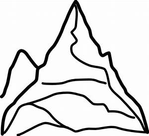 Chain Of Mountains Clip Art at Clker.com - vector clip art ...
