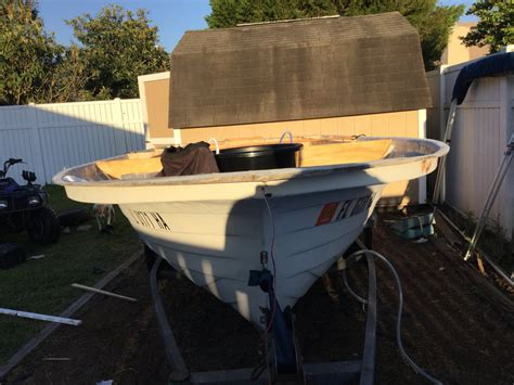 Bass Boat Questions by New Deck For Flats Boat Questions The Hull
