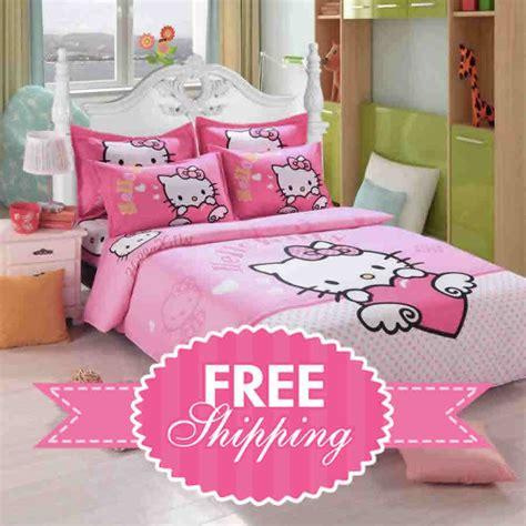 kitty bedding set bed linen comforter cover