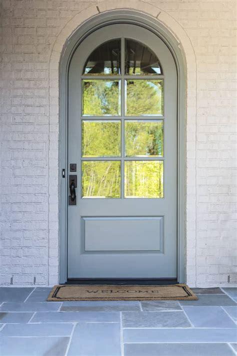 types  glass front doors   home
