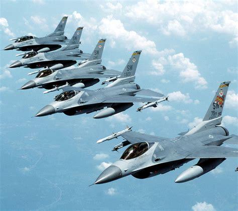 Mobile General Dynamics F-16 Fighting Falcon Wallpaper