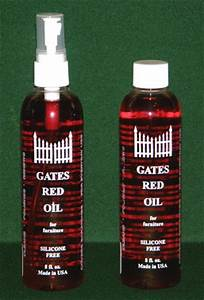 gates red oil for furniture With homemade furniture polish for antiques