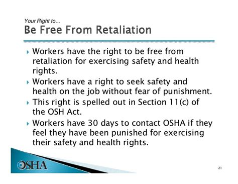 section 11 c of the osh act introduction to osha