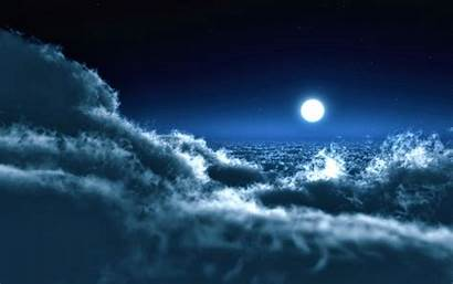 Sky Night Wallpapers Desktop Laptop Evening Backgrounds