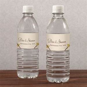 personalized love birds water bottle labels With branded water bottle labels