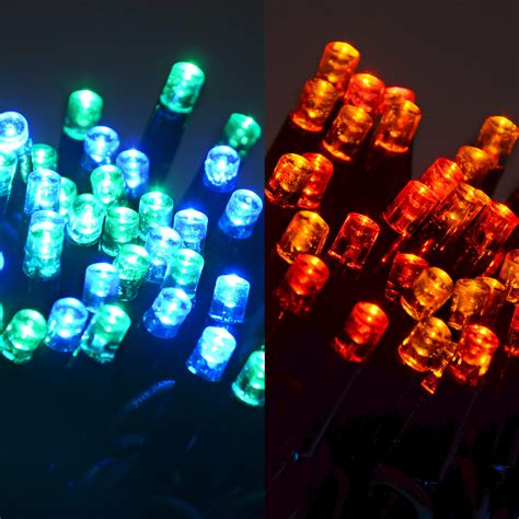 connectable string lights 100 led sets power cord