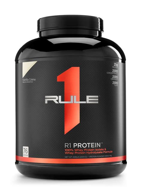 Amazon.com: R1 Protein Whey Isolate/Hydrolysate, Rule 1