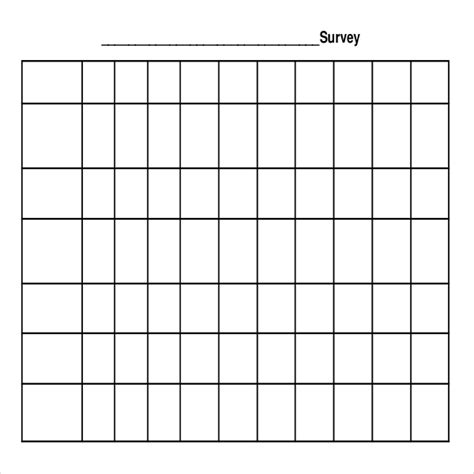 24+ Blank Survey Templates  Pdf, Word, Excel Free