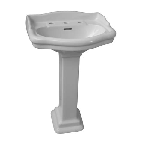Barclay Pedestal Sink Stanford by Barclay Stanford 550 Pedestal Lavatory 4 Cc Bisque