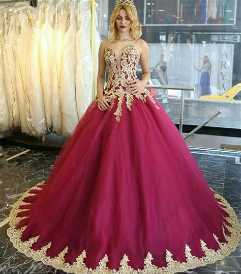 burgundy color prom dress prom dress burgundy quinceanera dresses vintage style
