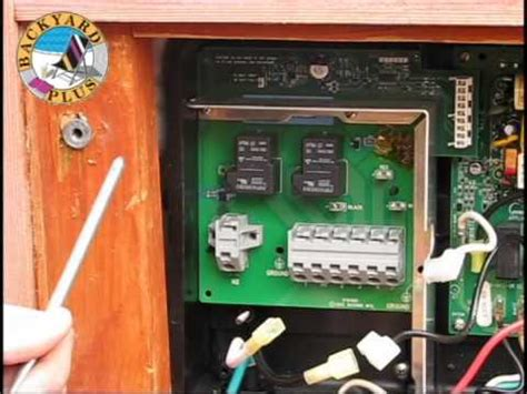 Replacing Hot Spring Spa Heater Relay Board Youtube