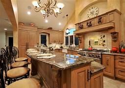 Ideas For Kitchen Designs by Old World Mediterranean Kitchen Design Classic European D Cor