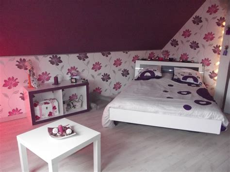 deco chambre chambre prune blanc et fushia photo 5 6 3515502