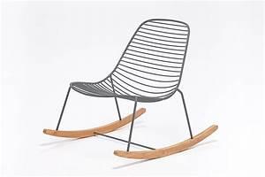 Chaise Scandinave A Bascule : chaise bascule ~ Teatrodelosmanantiales.com Idées de Décoration