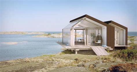 swedish prefab homes architect visit beach cabins from sommarn 246 jen gardenista
