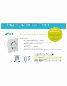 Extracteur D Air Salle De Bain Silencieux : ventilateur salle de bains extracteur d 39 air intermittent ~ Dailycaller-alerts.com Idées de Décoration