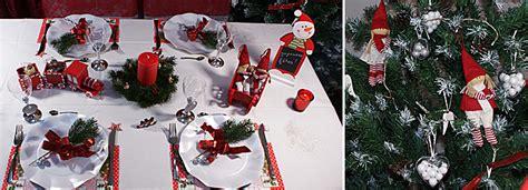 table no 235 l photo table noel en et vert a table la