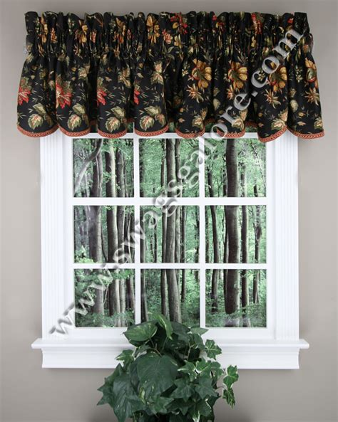 waverly curtains and valances felicite valance black waverly waverly curtains