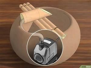 Fabriquer Une Fontaine Sans Pompe : 3 mani res de fabriquer une fontaine wikihow ~ Melissatoandfro.com Idées de Décoration