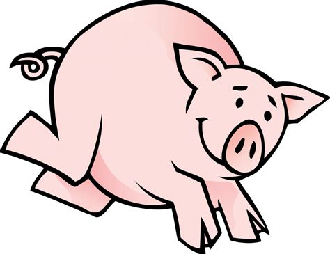 Free Outline Of A Pig, Download Free Clip Art, Free Clip