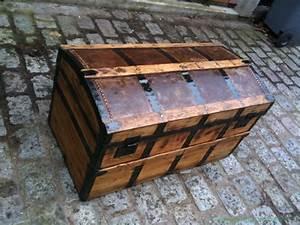 Malle En Bois : renovation vielle malle atelier passion du bois ~ Melissatoandfro.com Idées de Décoration