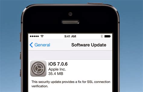 apple iphone update apple s ios vulnerable to in the middle attack