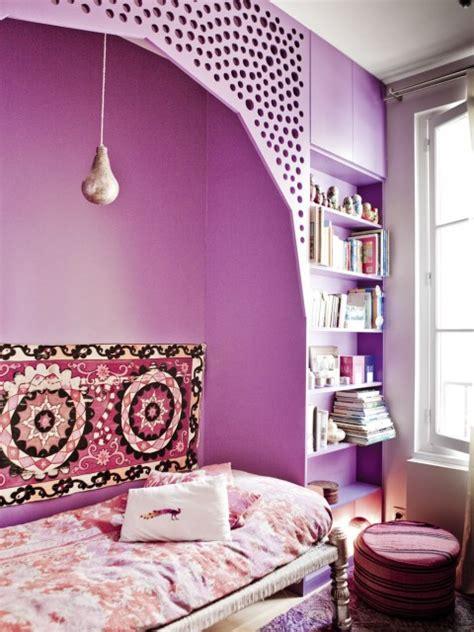 deco design inspiration boheme chambre coloree