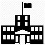 Building Icon College University Campus Clipart Icons