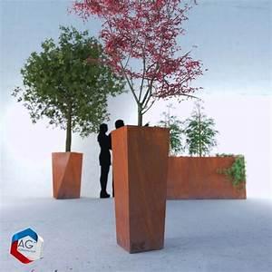 Modele Patio Evase Bac Plantes