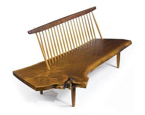 Conoid Bench By George Nakashima  Daily Icon