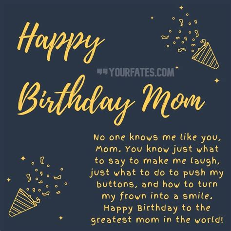 Maybe you would like to learn more about one of these? 100+ Best Happy Birthday Wishes for Mom   YourFates