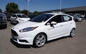 2015 Ford Fiesta St White