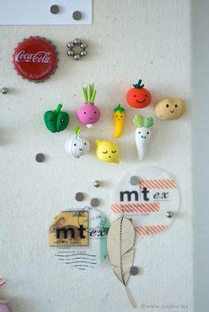 polymer clay food fridge magnets polymer clay diy