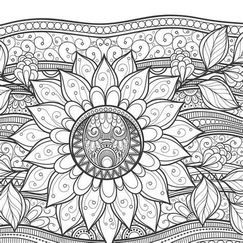 zen coloring flowers  knitpickscom knitting  guild