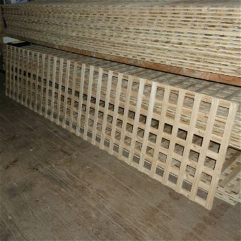treated pine mm square lattice trellis privacy screen