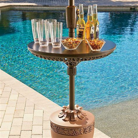 Umbrella Table ? Perfect summer party accessory gives your